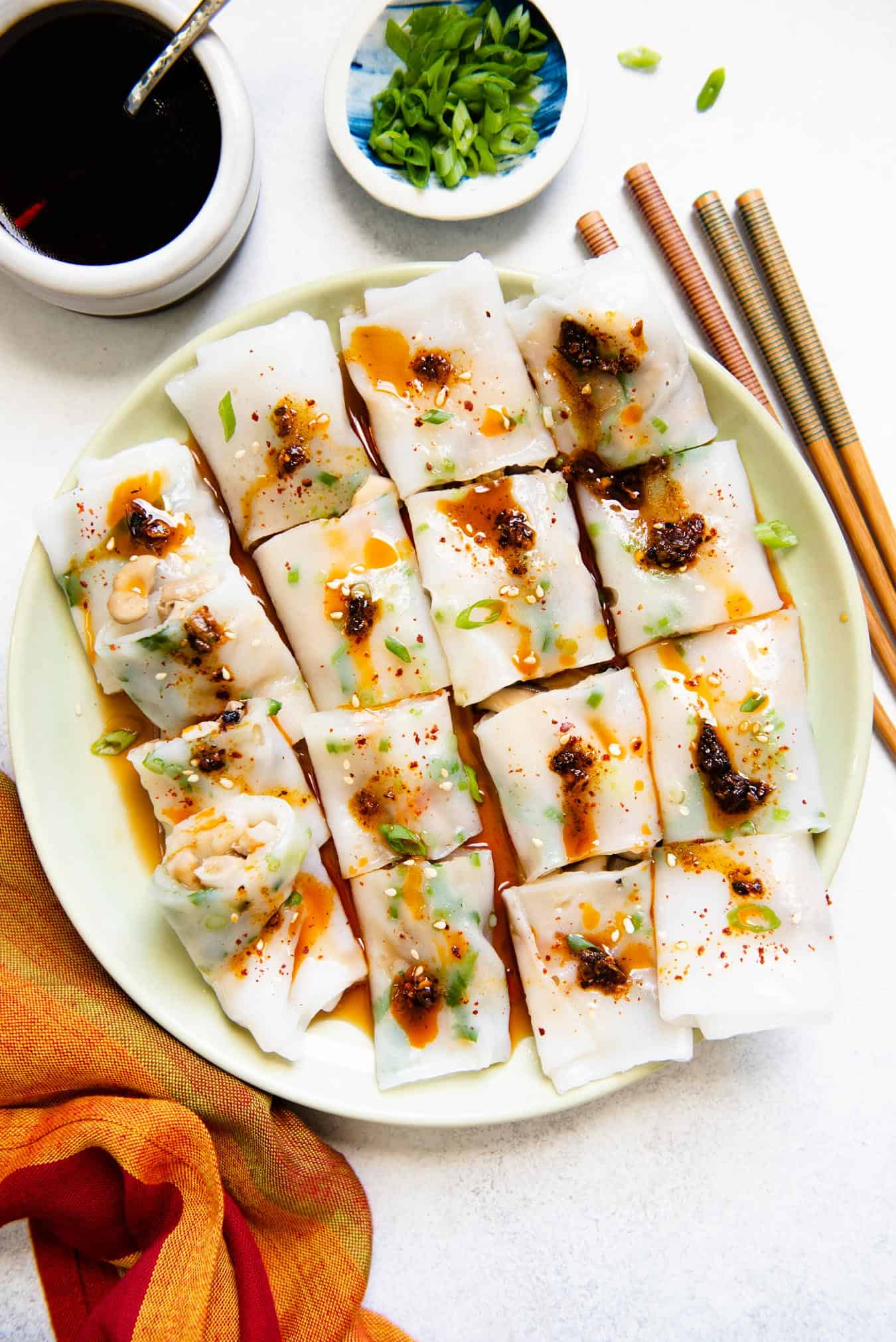 Mixed Mushroom Cheung Fun Recipe