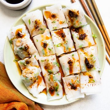 Mixed Mushroom Cheung Fun (雜菌腸粉)