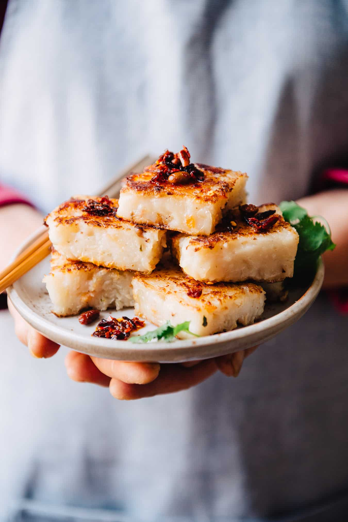Turnip Cake Recipe - this is a recipe for the classic Chinese lo bak go
