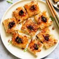 Turnip Cake Recipe - Mama Lin's lo bak go