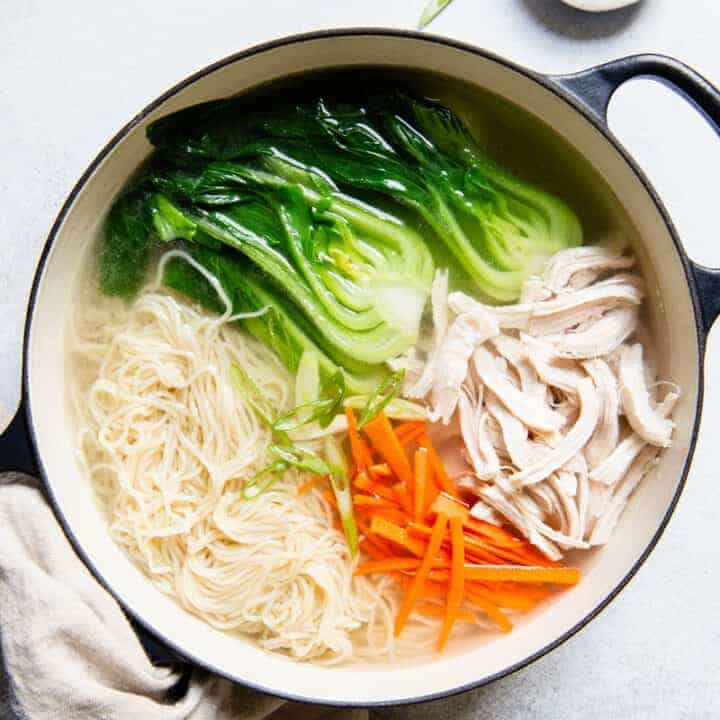 Chinese Chicken Noodle Soup Mama Lin Recipe Healthy Nibbles