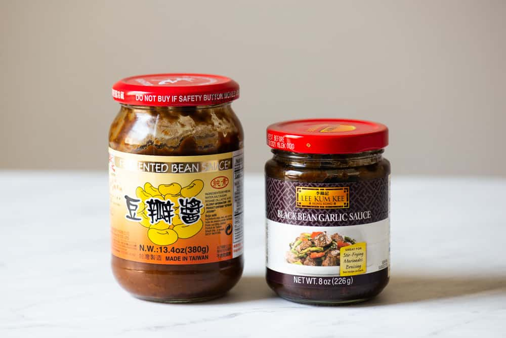Doubanjiang, black bean garlic sauce