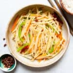 Tudou Si - Stir Fried Potato Slivers from Sichuan, a quick side dish