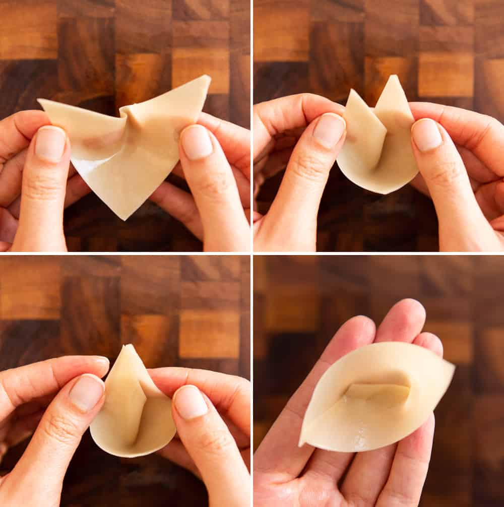 How to Make Wonton Cup