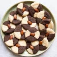 Black Sesame Almond Cookie