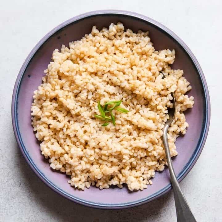 How to Cook Short Grain Brown Rice: Stovetop, Instant Pot & Slow Cooker