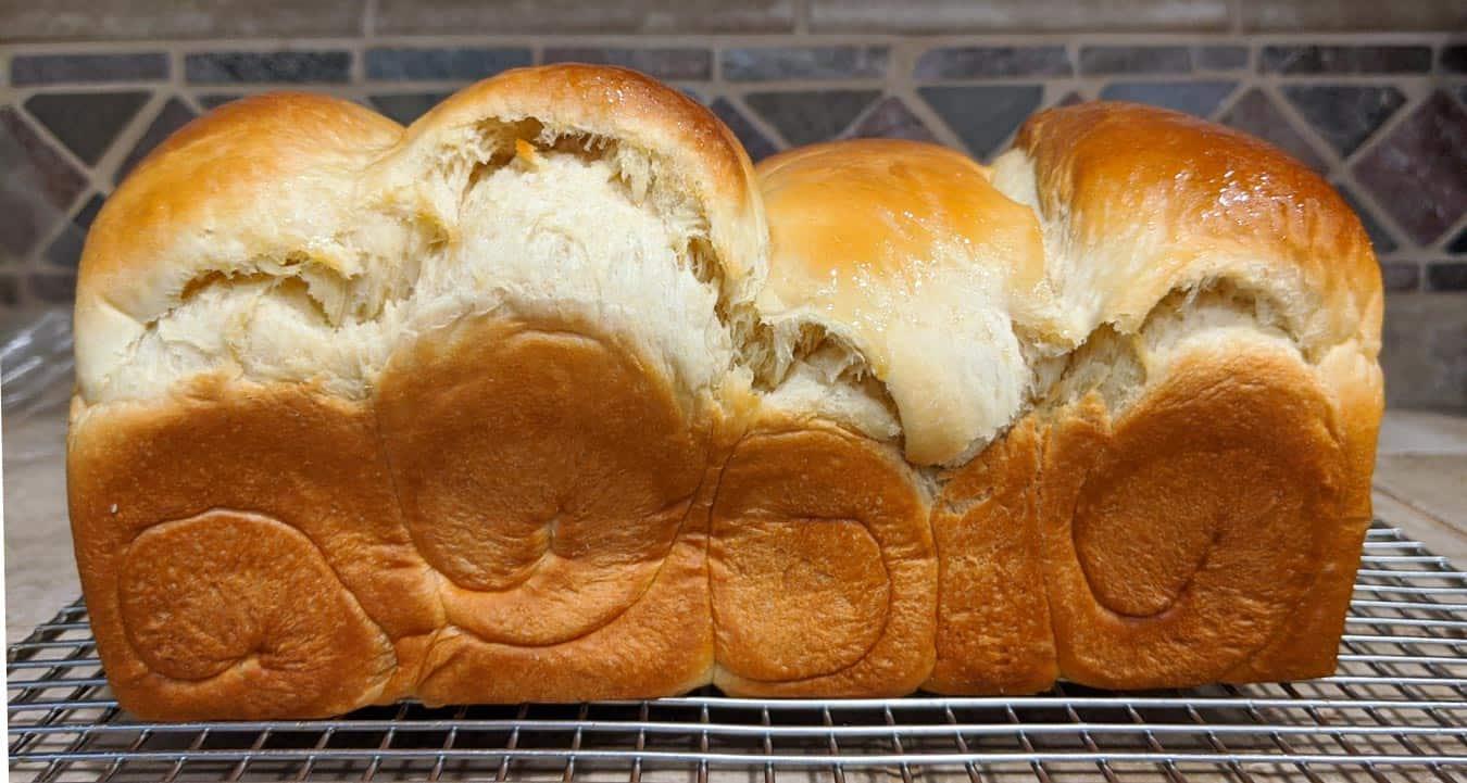 Underproofed bread