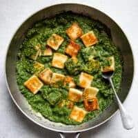 Simple Palak Paneer Recipe (ready in 45 minutes)