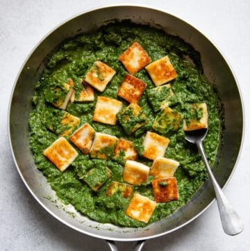 Simple Palak Paneer Recipe (ready in 45 minutes)