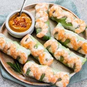 Fresh Vietnamese Spring Rolls (with video)