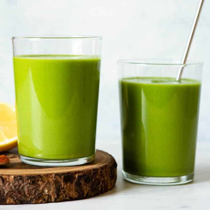 Veggie-Packed Avocado Green Smoothie