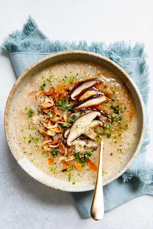 Vegan Congee Recipe