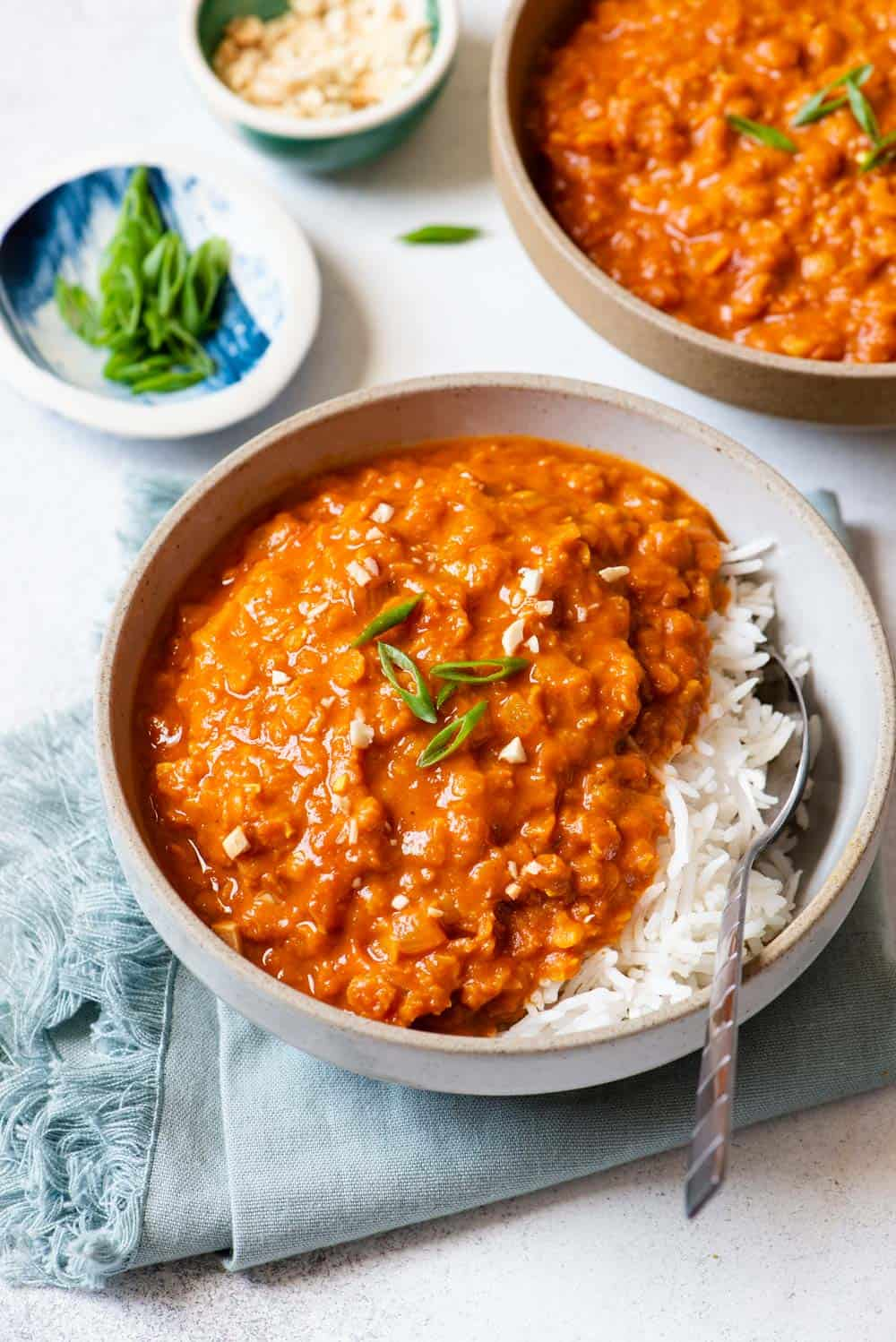Simple Red Lentil Curry Creamy And Flavorful Healthy Nibbles
