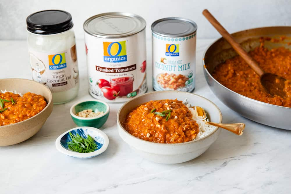 Lentil Curry with O Organics