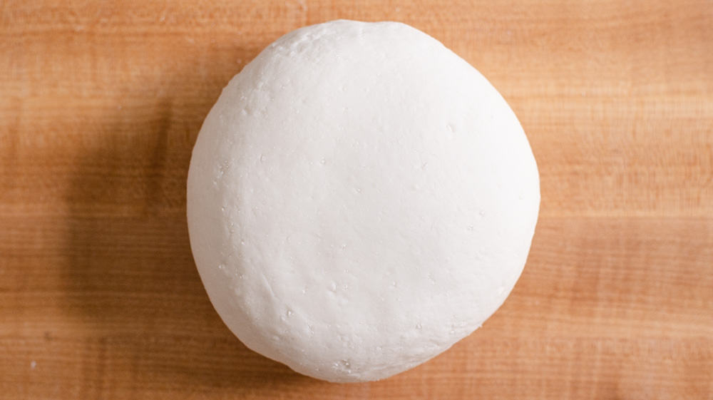 Kneaded Rice Cake Dough Disc