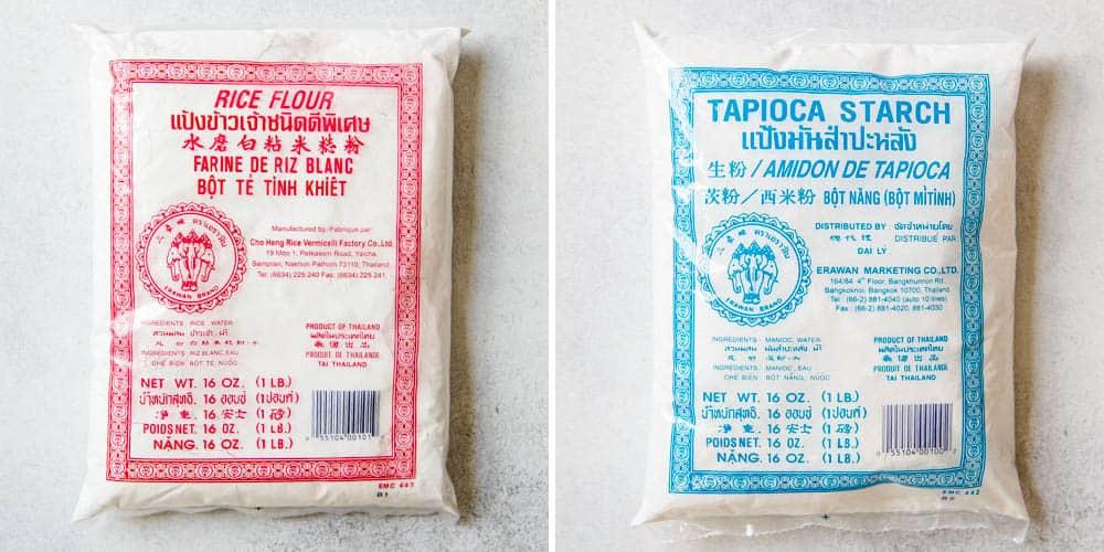 Thai Rice Flour and Tapioca Starch