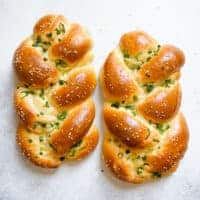 Chinese Baked Scallion Bread