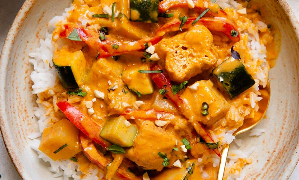Vegetable Red Curry