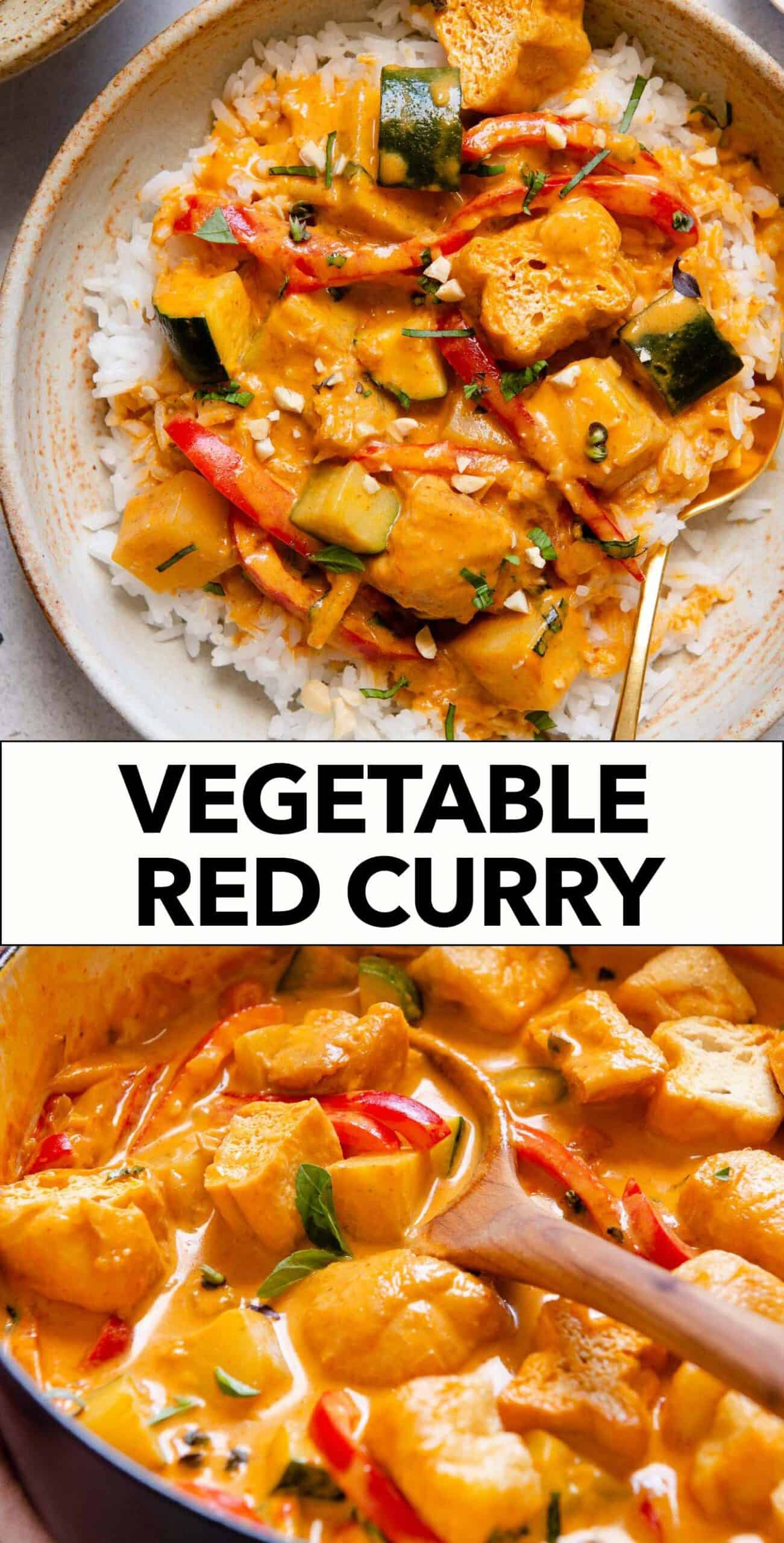 Thai Red Curry Vegetable