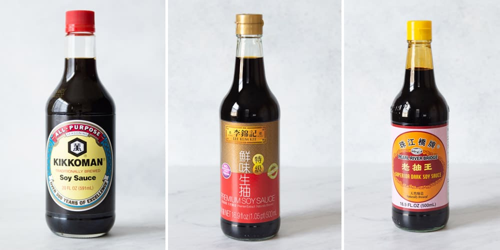 Soy Sauce Collage