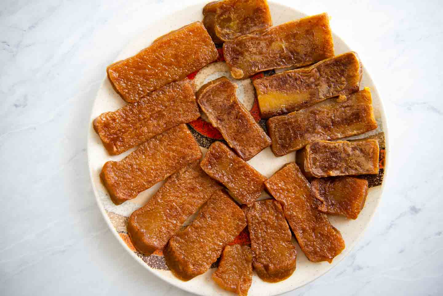 Pan Fried Nian Gao