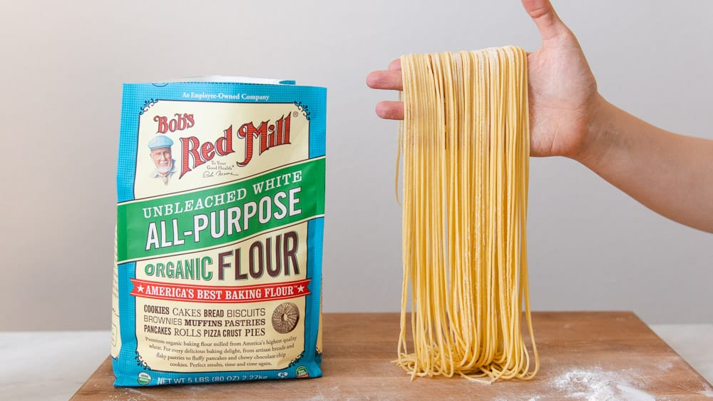 Cut Egg Noodles