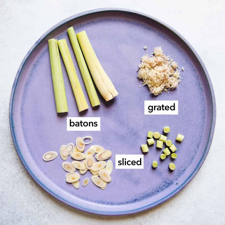 Prepared Lemongrass