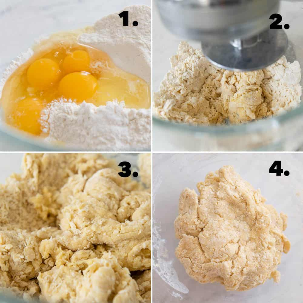 Making Dough with Stand Mixer