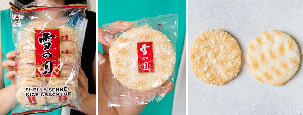 Snow Shelly Senbei Rice Cracker