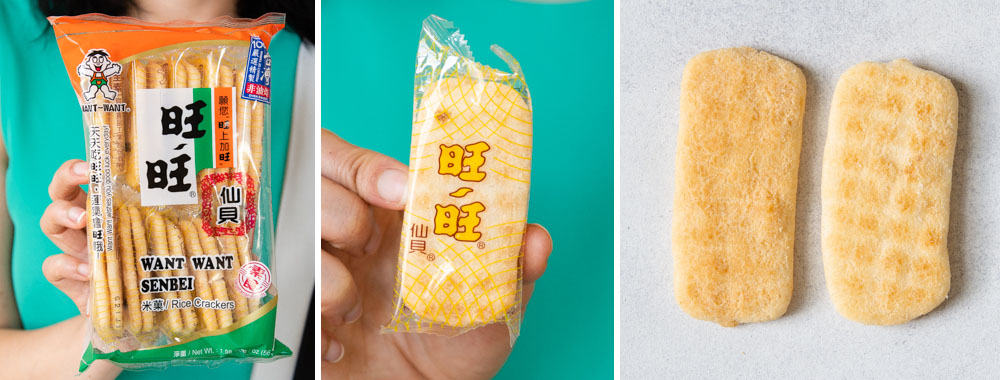 Want Want Rice Crackers