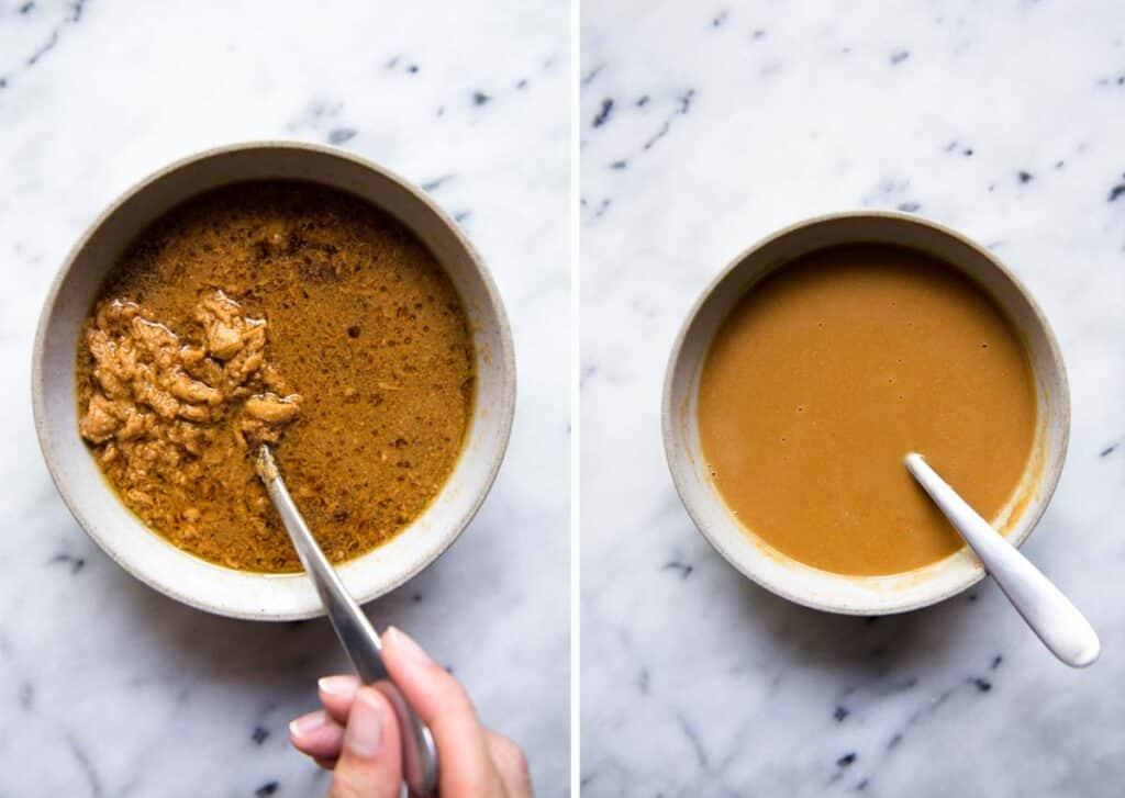 Mixing Peanut Butter