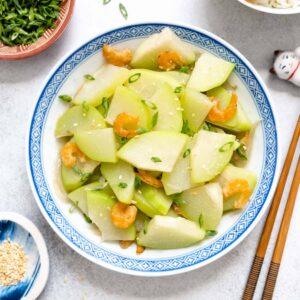 Chinese Stir Fried Chayote Recipe