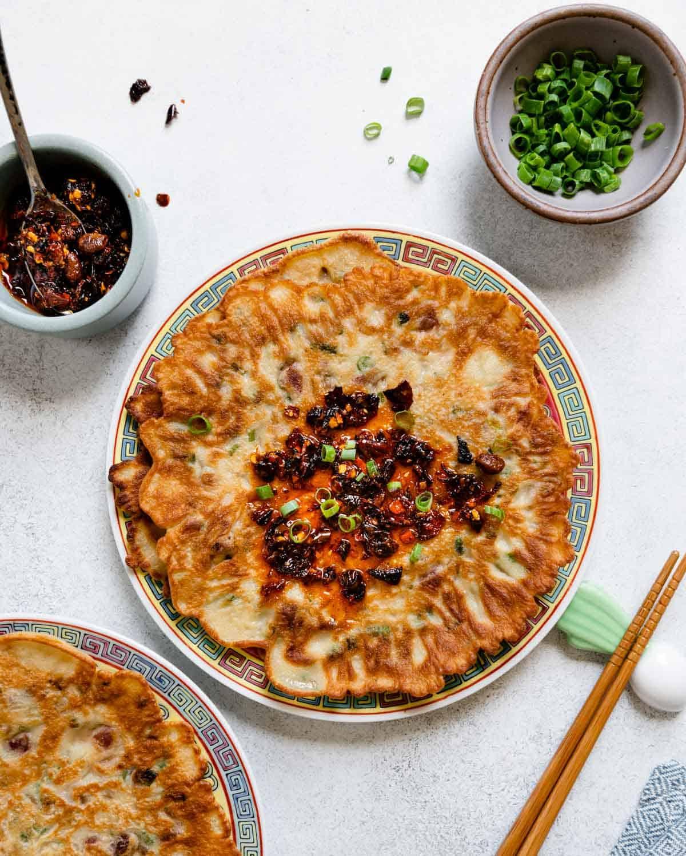 Mama Lin's Savory Chinese-Style Pancakes