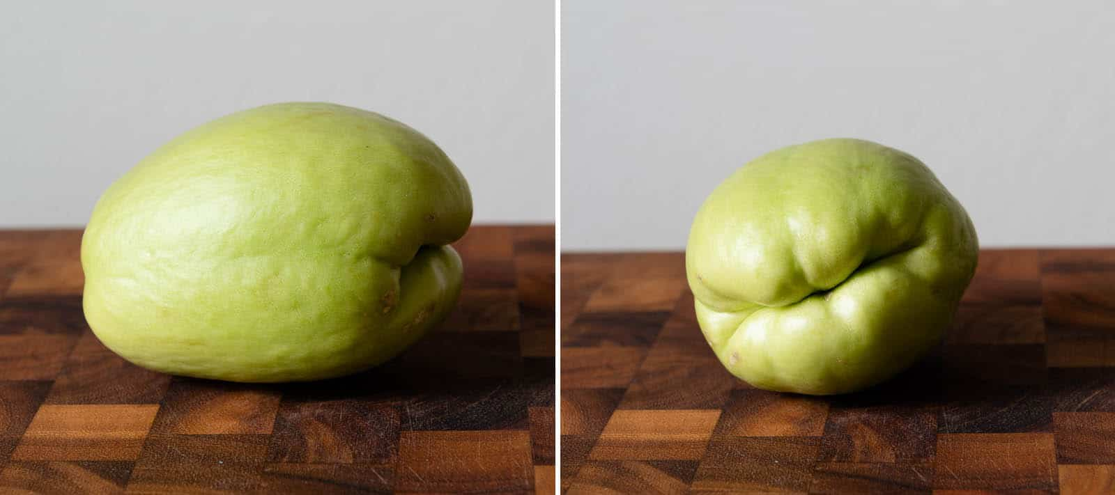 Store-bought chayote