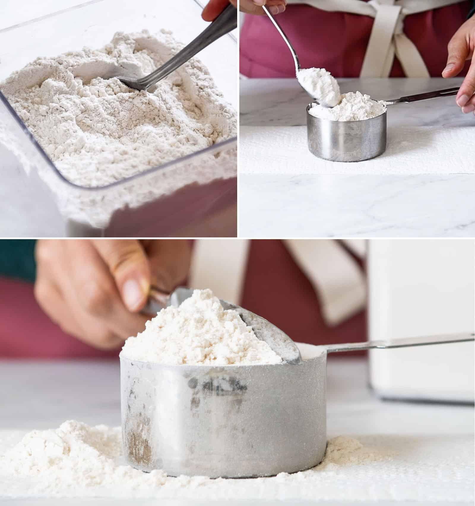 Measuring Flour Collage